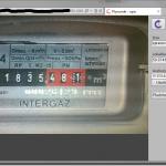 Aplikace pro odečet plynoměrů