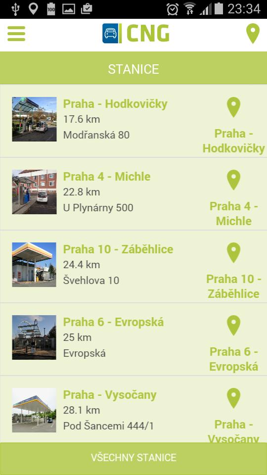 Seznam stanic