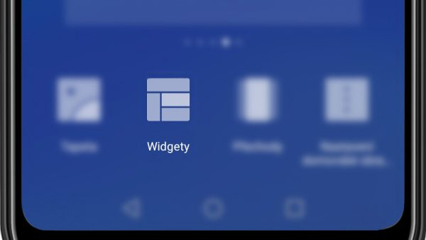 Widgety - android