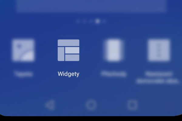 Widgety - android